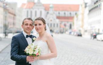 Hochzeit von Anna und Denis in Augsburg